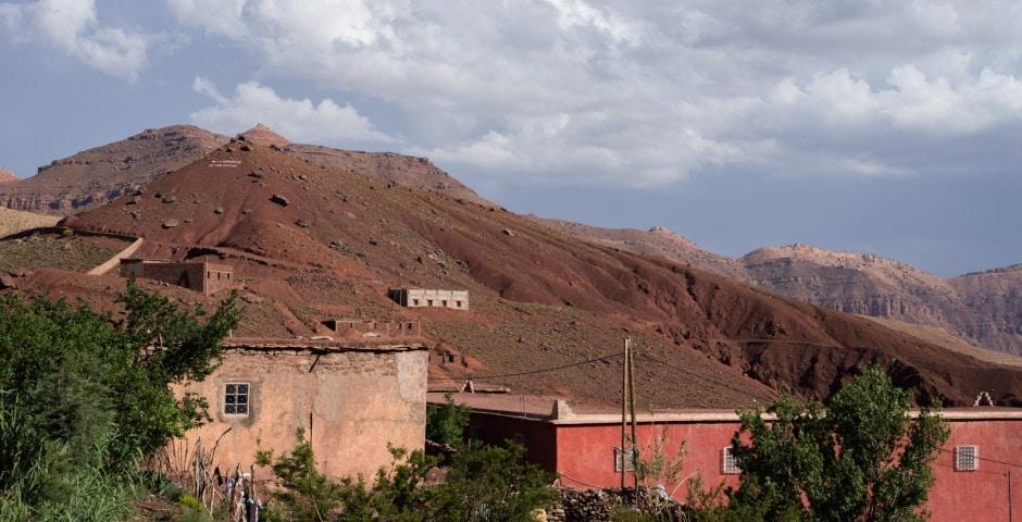 photo de l'Atlas prise lors d'un voyage au Maroc 1