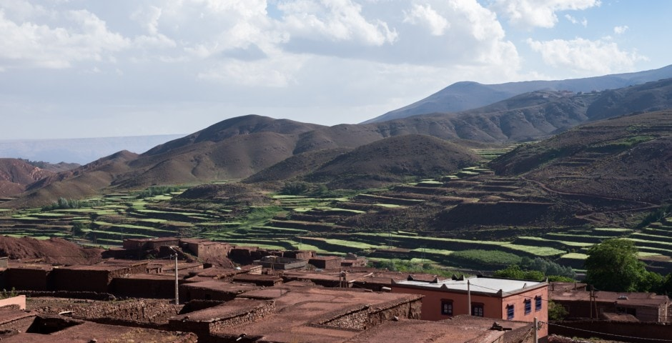 photo de l'Atlas prise lors d'un voyage au Maroc