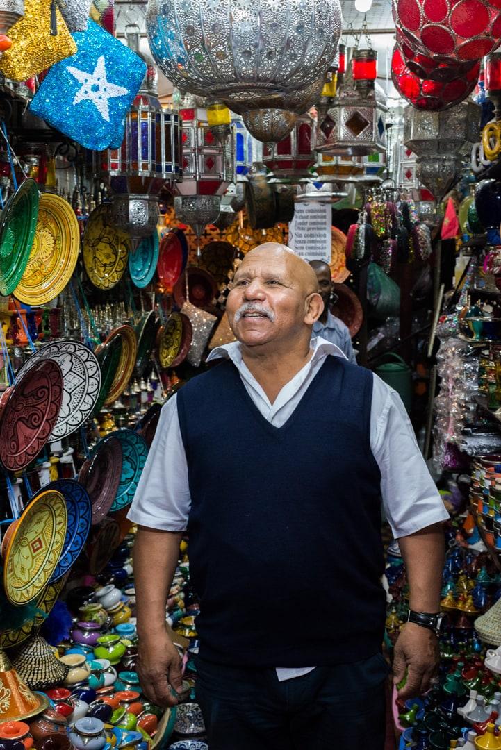 photo d'un souk de Marrakech prise lors d'un voyage au Maroc 2