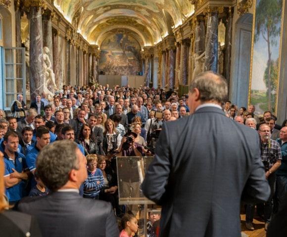 Photo réception maire toulouse - Jean luc moudenc