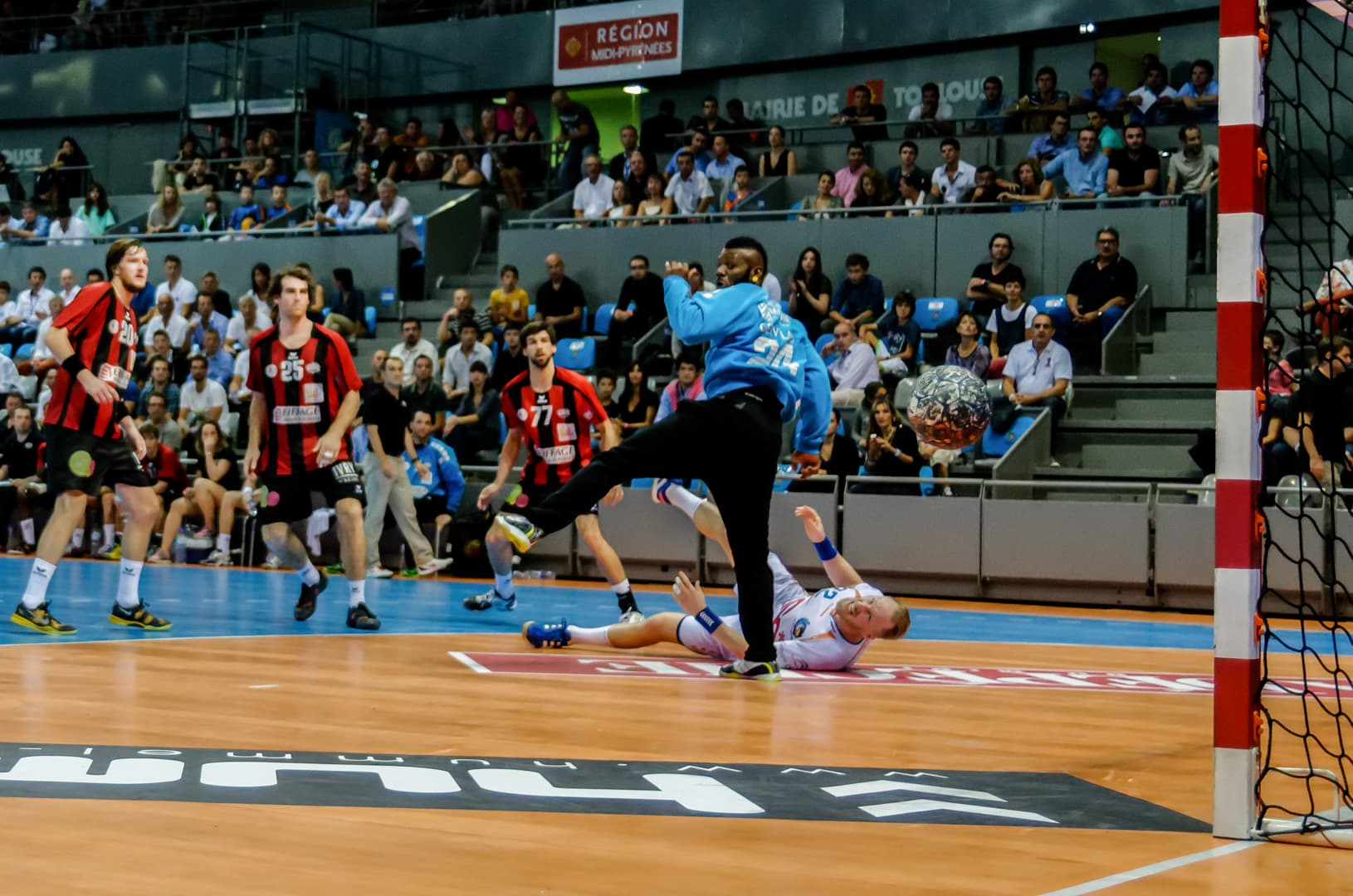Photographe sportif handball toulouse - Fénix