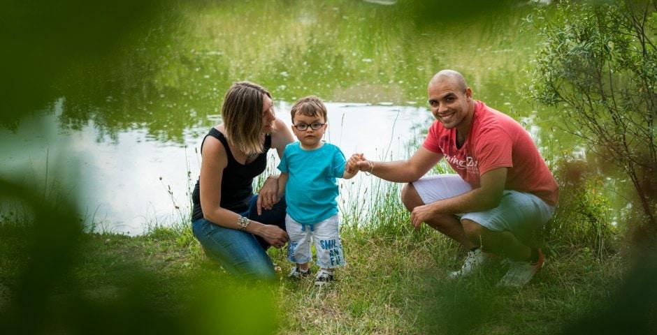 Photographe famille naturel Toulouse